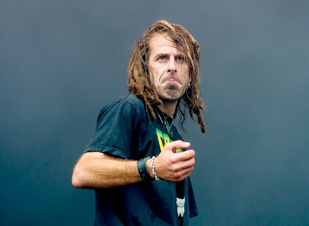 Zp�vák kapely Lamb of God Randy Blythe