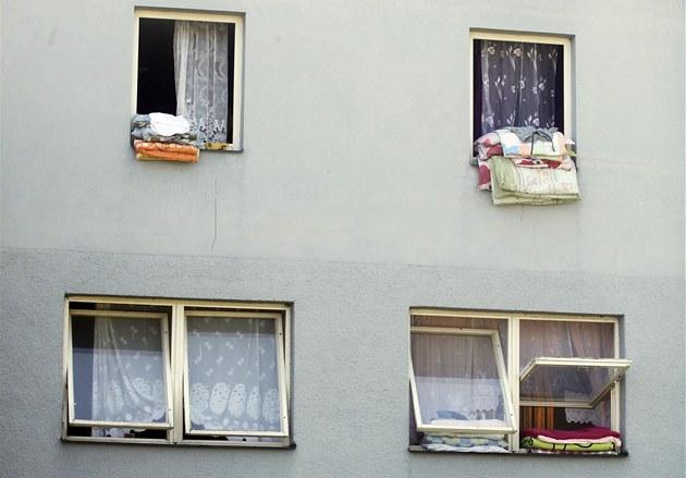 Ubytovna v Tovární ulici v Chrudimi.