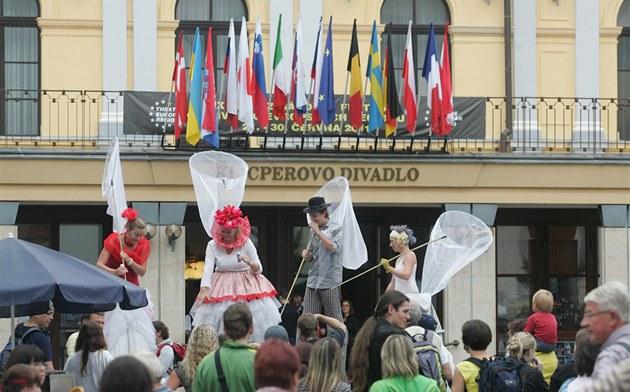 Královéhradecký festival Divadlo evropských region�. (�erven 2012)