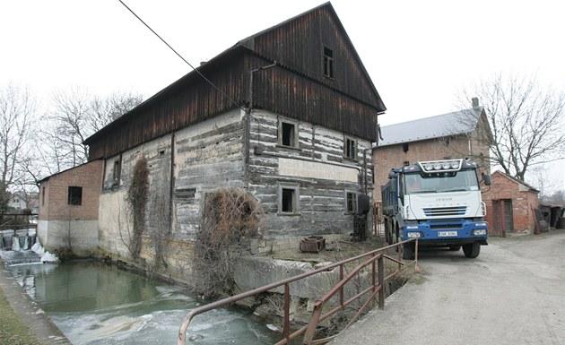 Vodní mlýn v Boharyni na Hradecku