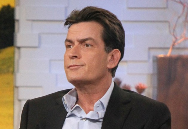 Charlie Sheen v po�adu Good Morning America