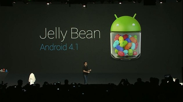 Google p�edstavil nový Android 4.1 Jelly Bean