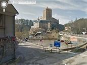 Street View - hrad Kost