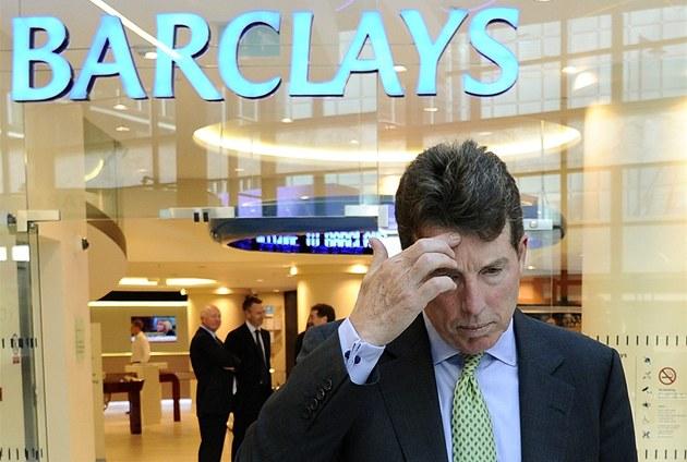 �éf Barclays Bob Diamond odstoupil. Za jeho vedení banka manipulovala s