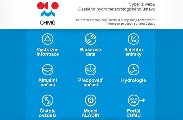 Nouzové stránky �eského hydrometeorologického ústavu