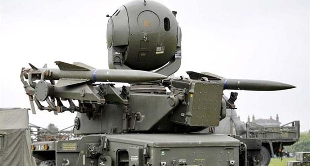 Protiletadlový systém Rapier britské armády