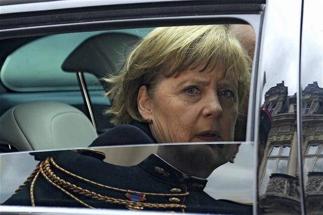 Více pravomocí Bruselu je ochotna dát i kanclé�ka Angela Merkelová (8. �ervence