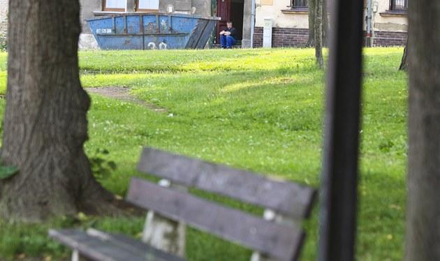 K�i�ovatka v Trmicích u Ústí nad Labem, kde byla unesena t�ítýdenní hol�i�ka....