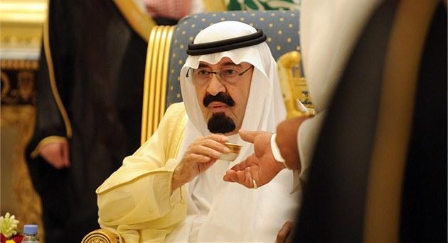 Král Abdalláh se ve svých dev�taosmdesáti net�í nejlep�ímu zdraví. Za poslední