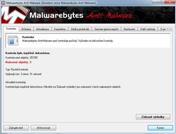 Malwarebytes Anti-Malware Free
