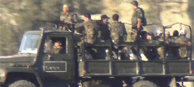 Asadovy jednotky v Dama�ku