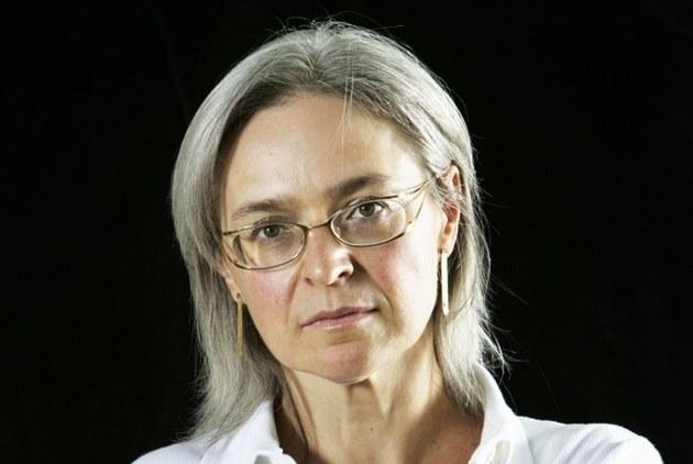 Zavra�d�ná ruská noviná�ka Anna Politkovská.