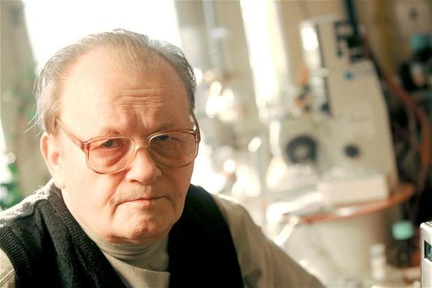 Sv�toznámý chemik Antonín Holý na snímku z b�ezna 2005