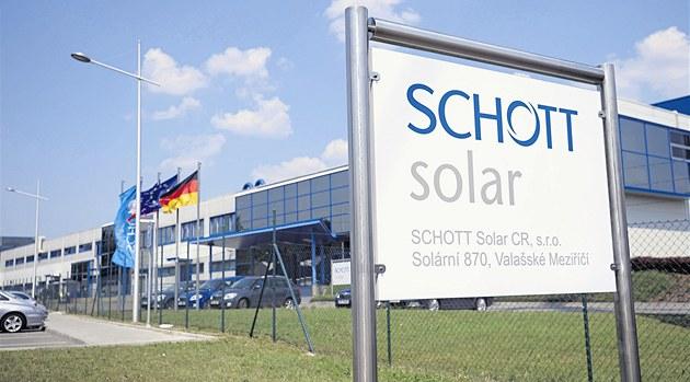 Firma Schott Solar oznámila ukon�ení výroby ve Vala�ském Mezi�í�í.