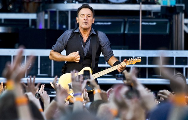 Bruce Springsteen, Praha, Synot Tip Arena, 11. 7. 2012 | foto: Michal ...