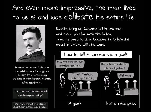 Matthew Inman se nebojí stát si za svým. Názor, �e Tesla je nejv�t�í vynálezce...