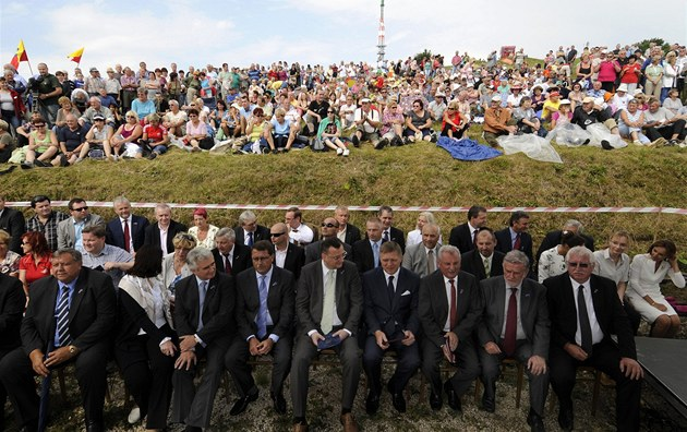 N�kolik stovek ob�an� z �eska i Slovenska se se�lo na tradi�ní Slavnosti