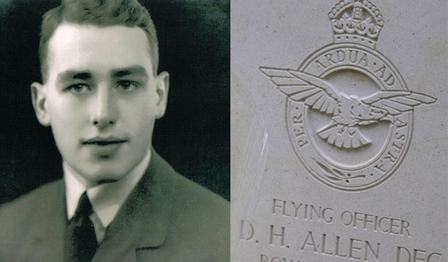 Britský vále�ný hrdina Derek Allen