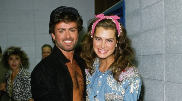 George Michael a Brooke Shieldsová (1985)