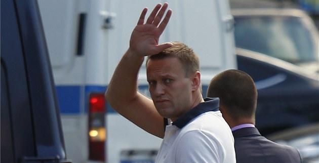 Ruský opozi�ní bloger Alexej Navalnyj (31. �ervence 2012)