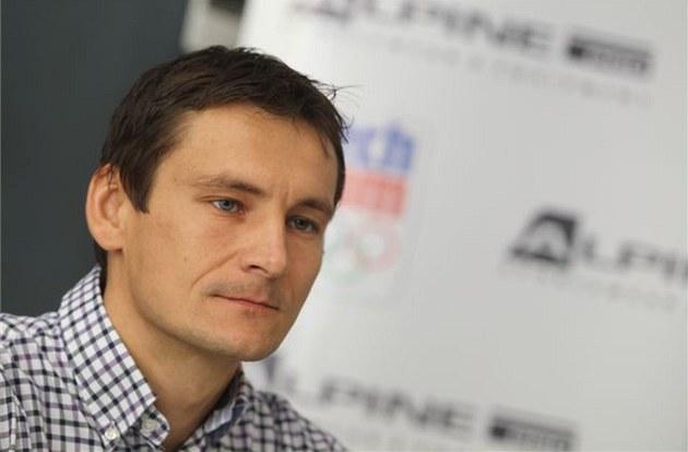 Spolumajitel a �editel výroby firmy Alpine Pro Václav Hrbek