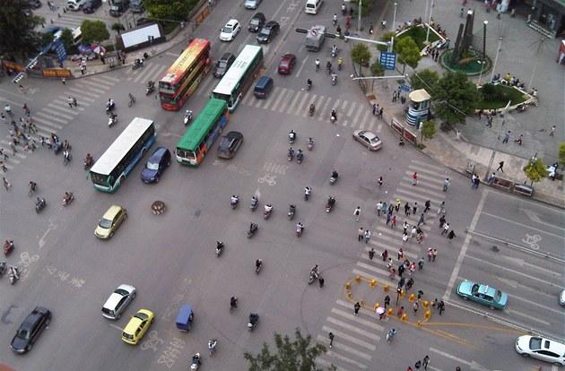 �ína, Kunming (�ervenec 2012)