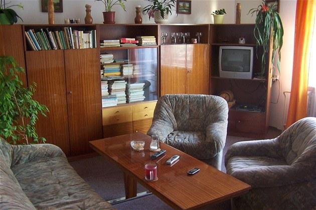 Sou�asný vzhled obývacího pokoje