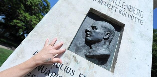 Pomník Raoula Wallenberga v Budape�ti