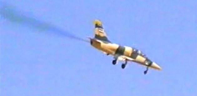 Bitevník L-39 Albatros v barvách syrské armády