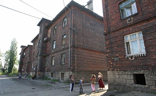 Budoucnost obyvatel dom� v P�ednádra�í v Ostrav�-P�ívozu je velmi nejistá.