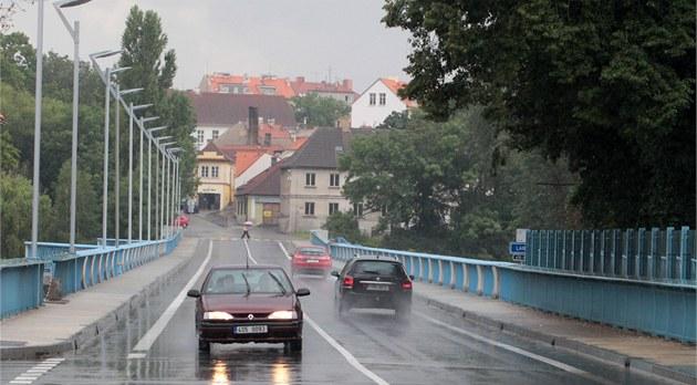 Zrekonstruovaný most v Brandýse nad Labem - Staré Boleslavi.