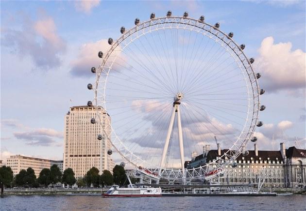 Londýn a jeho slavná atrakce - Londýnské oko