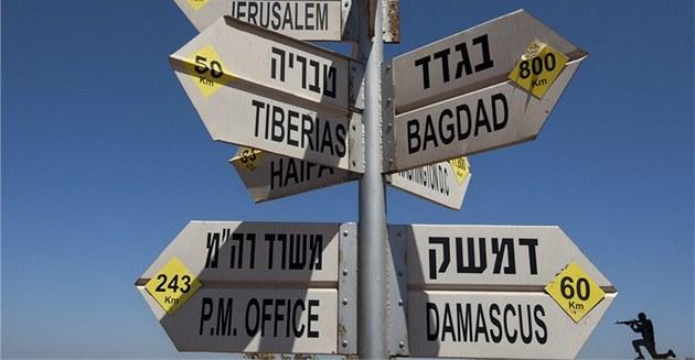 Jen jen na Asadovi, jakou cestu pro svou zemi zvolí. Rozcestník na Golanských