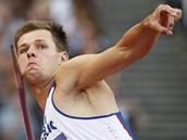 o�t�pa� Petr Frydrych v kvalifikaci olympijského závodu v Londýn�