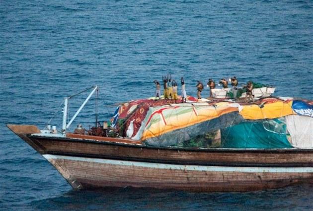 Zásah proti somálským pirát�m (13. srpna 2012)