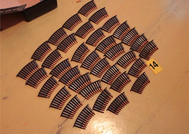 Policisté na�li v ostravském byt� i velké mno�ství munice