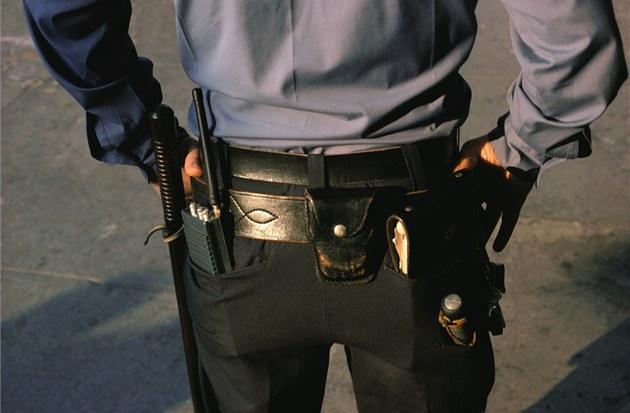 Americký policista.