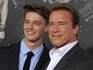 Arnold Schwarzenegger a jeho syn Patrick