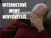 Obl�ben� mem s kapit�nem Pickardem ze Star Treku