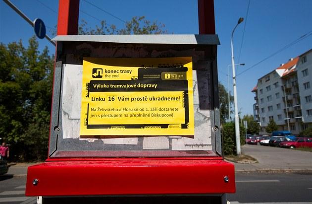 """Upozorn�ní na """"ukradenou"""" linku"""