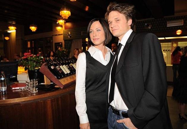 Ond�ej Brzobohatý s man�elkou Johanou (2009)