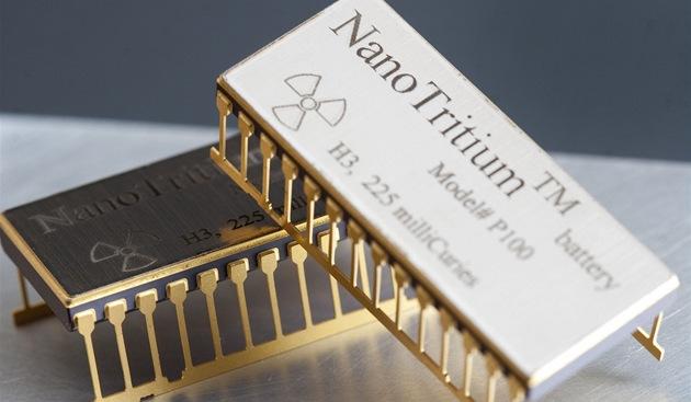 Nukleární baterie NanoTritium