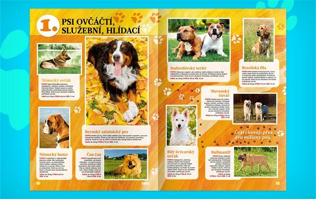 Psí album - Sb�ratelský magazín Mladé fronty DNES