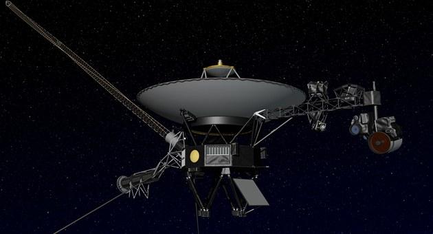 Voyager 1 ve vesmíru na ilustraci NASA