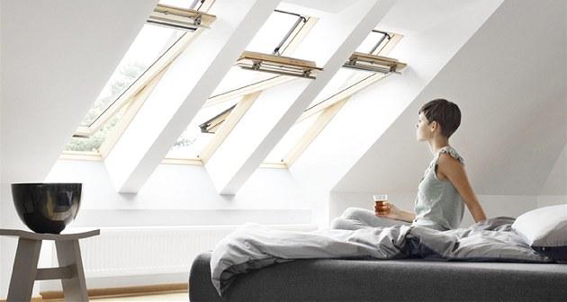 Minimální vý�ka spodní hrany pro docílení optimálního výhledu ze st�e�ního okna...