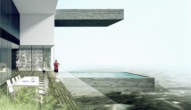 Ka�dý byt je koncipovaný jako samostatný rodinný d�m s terasou, zahrádkou a...