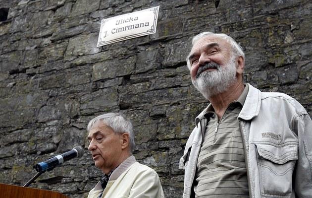 V Letohradu byla otev�ena Uli�ka Járy Cimrmana. (17. zá�í 2012)