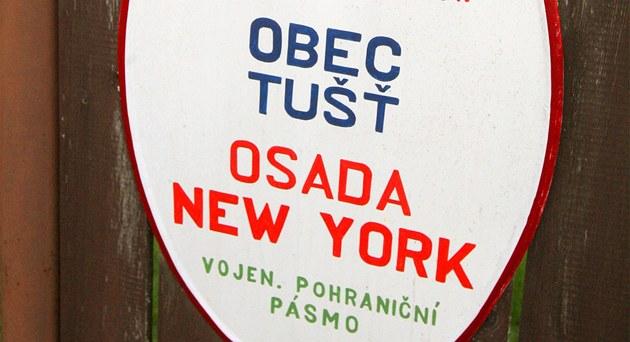 Osada New York je vzdálená asi dva kilometry od Suchdola nad Lu�nicí
