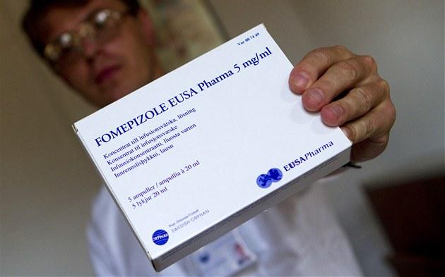 Norský toxikolog Knut Erik Hovda do �eska p�ivezl 150 dávek �etrného léku