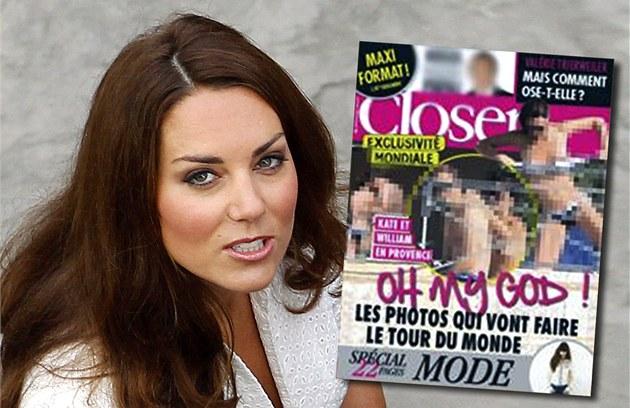 Polonahá Kate na obálce francouzského �asopisu Closer